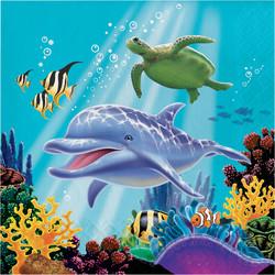 Parti Dünyası - Okyanus Partisi Peçete 16 Adet
