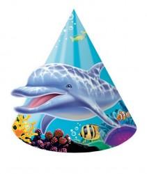 Parti Dünyası - Okyanus Partisi Şapka 8 Adet