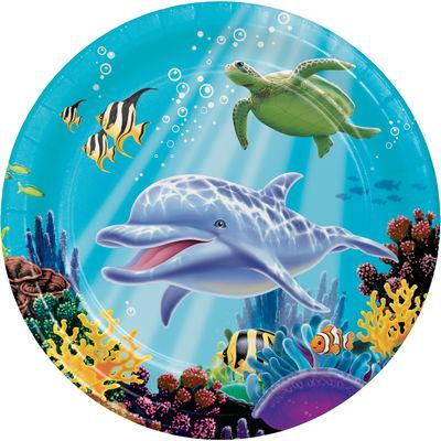 Okyanus Partisi Tabak 8 Adet