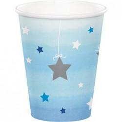 Parti Dünyası - One Little Star Mavi 8 li Bardak