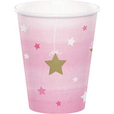- One Little Star Pembe 8 li Bardak