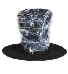 Parti Dünyası - Örümcek Ağı ve Örümcekli Maxi Boy Şapka