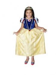 Parti Dünyası - Pamuk Prenses Kostümü Kristal Disney 6-8 YAŞ