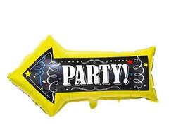 Parti Dünyası - PARTY Ok Şekilli Folyo Balon 85 cm