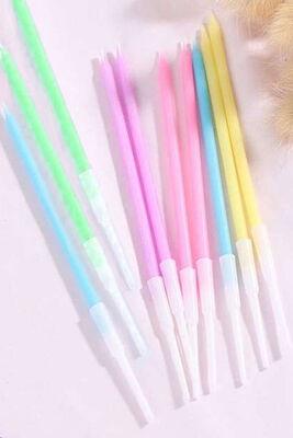 Pastel Renk Makaron 10 Lu Mum