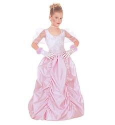 Parti Dünyası - Pembe Uzun Kabarık Etekli Prenses Kostümü 4-5 YAŞ