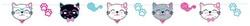 Parti Dünyası - Pembe Kedicikler Özel Kesim Banner Afiş 250 cm