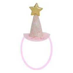 Parti Dünyası - Pembe Prenses Şapkası 1 Adet Mini Boy 10 cm