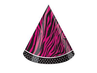 Converting - Pembe Zebra Butiği 8 li şapka