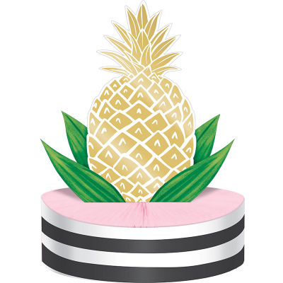 - Pineapple Gold Masa Orta Süsü