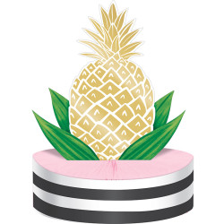 Parti Dünyası - Pineapple Gold Masa Orta Süsü