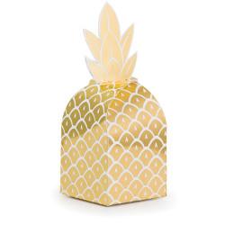 Parti Dünyası - Pineapple Gold Hediye Kutusu 8 Adet