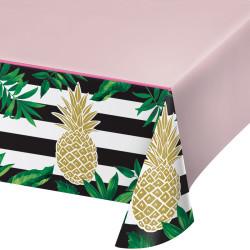 Parti Dünyası - Pineapple Gold Masa Örtüsü