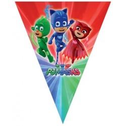 Parti Dünyası - Pj Mask Bayrak Afiş 230 cm
