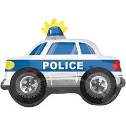 Parti Dünyası - Polis Arabası Folyo Balon 60 x 45 cm