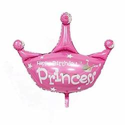 Parti Dünyası - Prenses Tacı Şekilli Folyo Balon