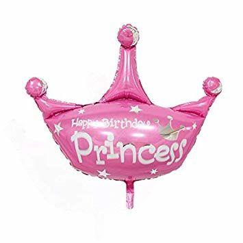 Prenses Tacı Şekilli Folyo Balon