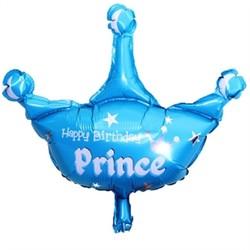 Parti Dünyası - Prens Tacı Şekilli Folyo Balon