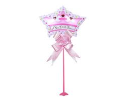 Parti Dünyası - Prenses Balon Çubuklu, Kurdele ve Standlı