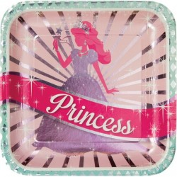 Converting - Prenses Partisi 8 li Büyük Tabak 25 cm