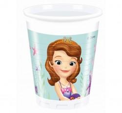 Parti Dünyası - Prenses Sofia Deniz Kızı 8 Li Bardak