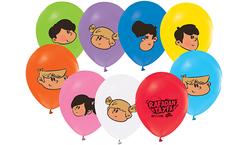 Parti Dünyası - Rafadan Tayfa Baskılı Latex Balon 12 Adet