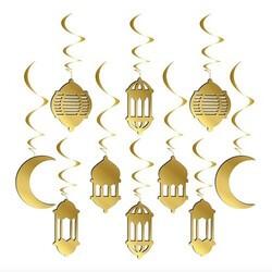 Parti Dünyası - Ramazan Ayı 10 Lu Tavan Süsü 3D