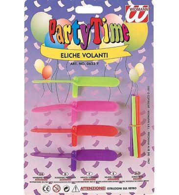 Parti - Renkli Fırıldak 4 Lü Paketlerde
