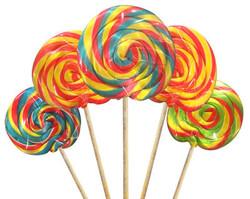 Parti Dünyası - Renkli Lolipop 10 Adet