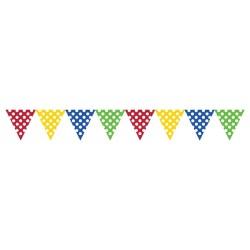 Parti Dünyası - Renkli Puanlı Bayrak Afiş