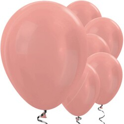 Parti Dünyası - Rose Gold Metalik 10 Lu Latex Balon