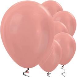Parti Dünyası - Rose Gold Metalik 100 lü Lateks Balon