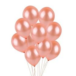 Parti Dünyası - Rose Gold Metalik 100 lü Balon