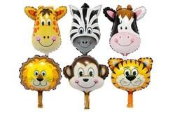 Parti Dünyası - Safari Folyo Balon Seti 6 lı