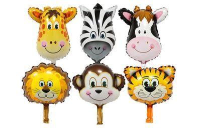 Safari Folyo Balon Seti 6 lı