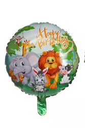 Parti Dünyası - Safari Partisi Folyo Balon 45 cm