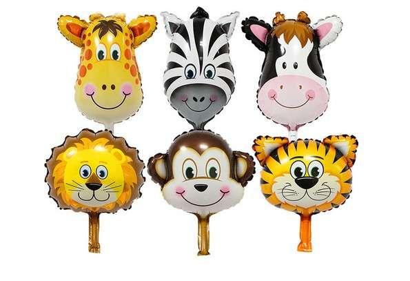 Safari Partisi Folyo Balon