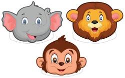 Parti Dünyası - Safari Partisi Maske 6 Lı