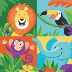 Parti Dünyası - Safari Partisi Peçete 16 Adet