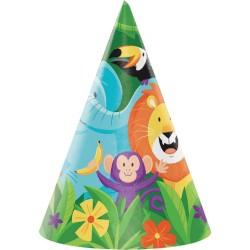 Parti - Safari Partisi Şapka 8 Adet