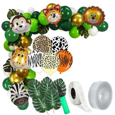SAFARİ PARTİSİ Zİncir Balon Yapım Seti