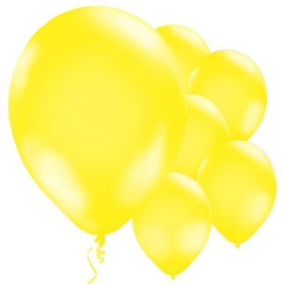 Sarı Balon 10 Adet