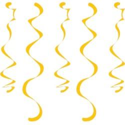 Parti Dünyası - Sarı 10 lu Süs Dalgası