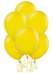 Parti Dünyası - Sarı Renk 100 Lü Latex Balon