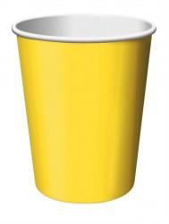 Parti Dünyası - Sarı 8 li Bardak