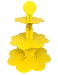 Parti - Sarı Cupcake Standı