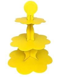 Parti Dünyası - Sarı Cupcake Standı