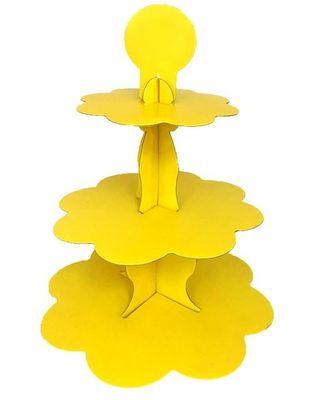 Sarı Cupcake Standı