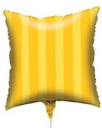 Parti Dünyası - Sarı Kare Folyo Balon