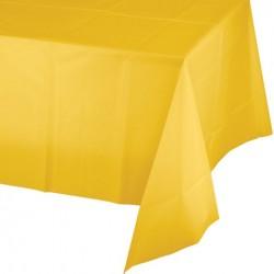 Parti Dünyası - Sarı Masa Örtüsü 274 cm X 137 cm ebadında